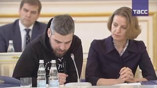 Основатель проекта Чистые Игры Дмитрий Иоффе на заседании Госсовета  27.12.18