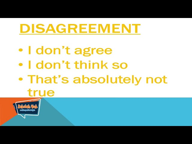 Sekolah Yuk SMP Kelas 9 Eps. 3 Agree and Disagree- Bahasa Inggris