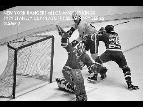 NEW YORK RANGERS AT LOS ANGLES KINGS 1979 STANLEY CUP PLAYOFFS, GAME 2  (AUDIO)