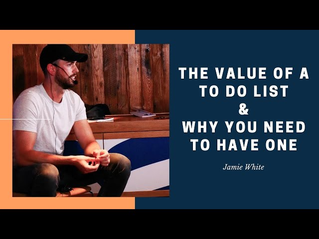 The Value of A To Do List & Why You Need To Have One