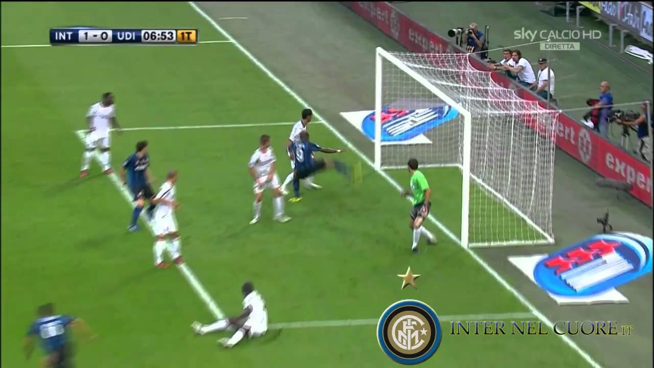 Download Gol Lucio Inter - Udinese (11-09-2010) - 2a Giornata Serie A