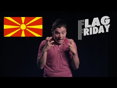 Geography Now! Rep. of Macedonia (F.Y.R.O.M) (Flag Friday)