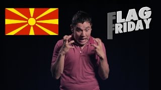 Flag/ Fan Friday Rep. of North Macedonia (Geography Now!)