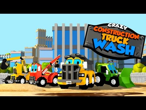 crazy-construction-|-truck-wash-|-promo-|-trailer-|-cartoon-video-for-toddlers-by-kids-tv