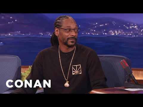 Snoop Dogg's Line Of Marijuana Goodies  - CONAN on TBS