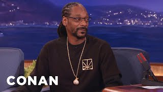 Snoop Dogg's Line Of Marijuana Goodies  - CONAN on TBS