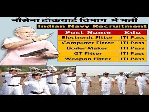 #नौसेना डॉकयार्ड मुंबई #NDM #भर्ती 2017, 111 पद, Fitter Post, #Naval Dockyard Mumbai Recruitment Job