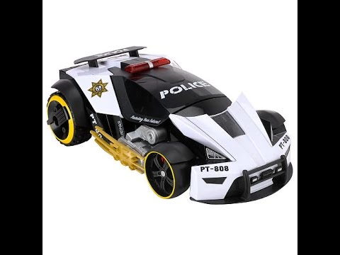 voitures de course de police jouets pour enfants youtube. Black Bedroom Furniture Sets. Home Design Ideas
