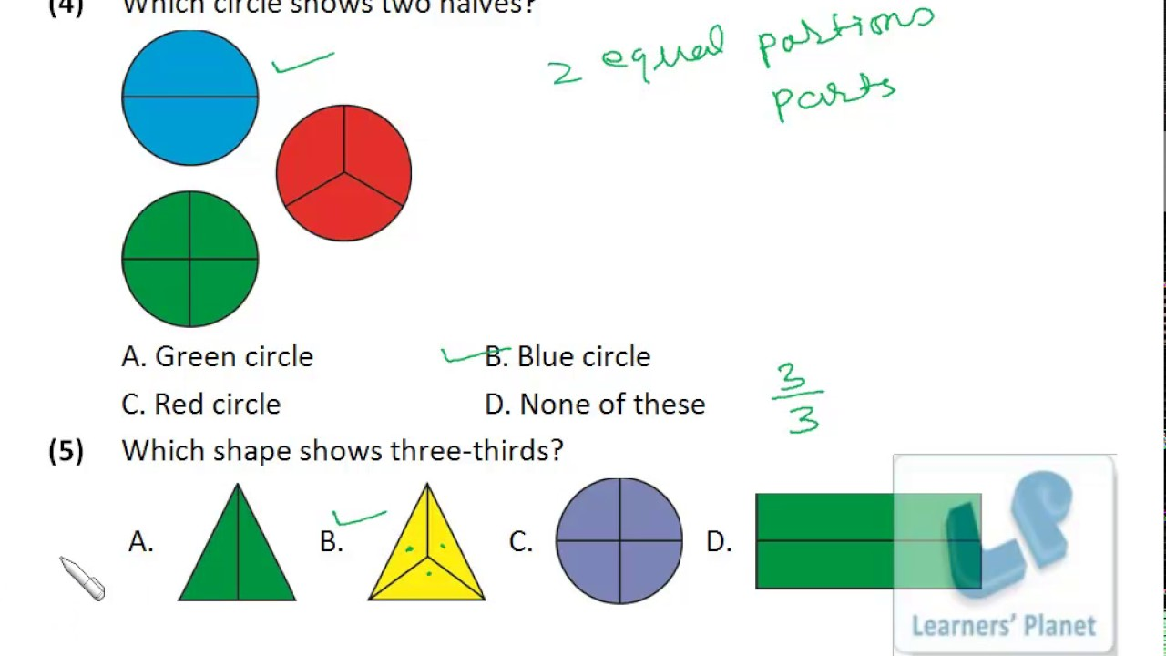 Maths Fraction Practice s-5, Fraction worksheets,practice paper ...