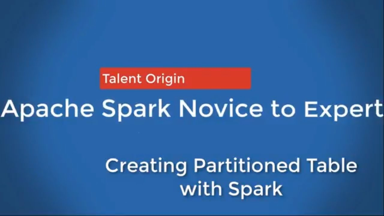 Creating External Table with Spark