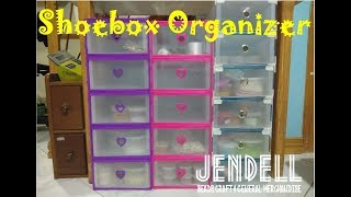 ShoeBox Organizer Assemble Part 1