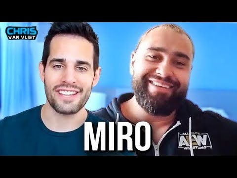 """Miro describes his time in WWE as """"dreadful"""", how he and Lana met, AEW debut, Bobby Lashley"""