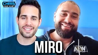 Miro describes his time in WWE as 'dreadful', how he and Lana met, AEW debut, Bobby Lashley