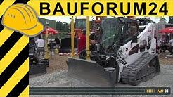 Bobcats Anbaugeräte zur Flächenherstellung auf der TiefbauLive
