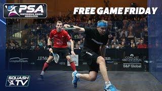 Squash: Matthew v Willstrop - Free Game Friday - ToC 2017