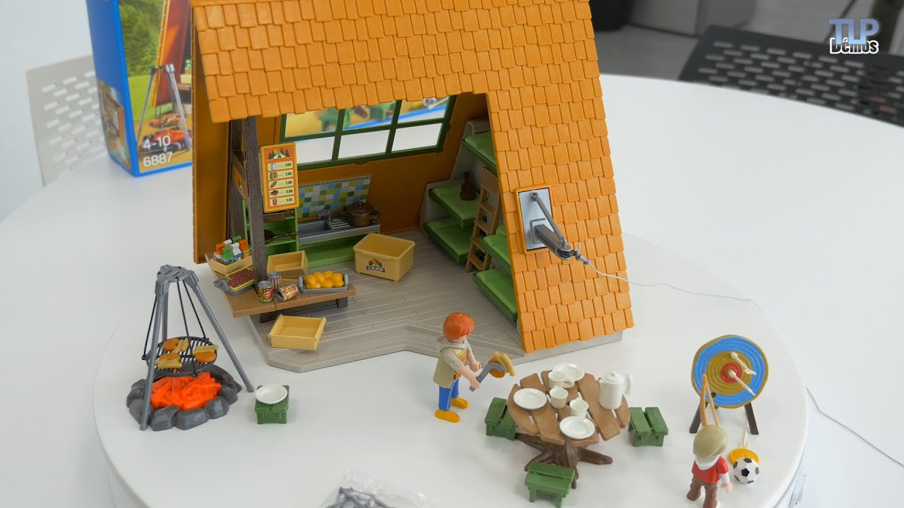 Playmobil 6887 g te de vacances summer fun d mo en fran ais youtube - Toute les maison playmobil ...