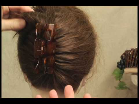 Easy Hairstyles Why Use An Ugly Plastic Claw To Put Up