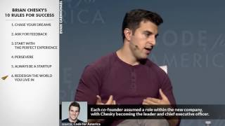 Brian Chesky's Top 10 Rules For Success