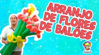 Faça você mesmo - Arranjo de flores de balões
