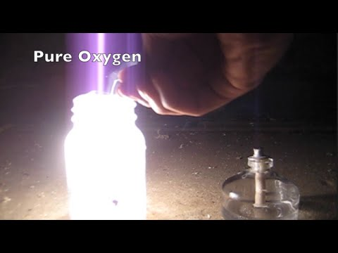 Burning Magnesium In Air, Pure Oxygen, And Carbon Dioxide.