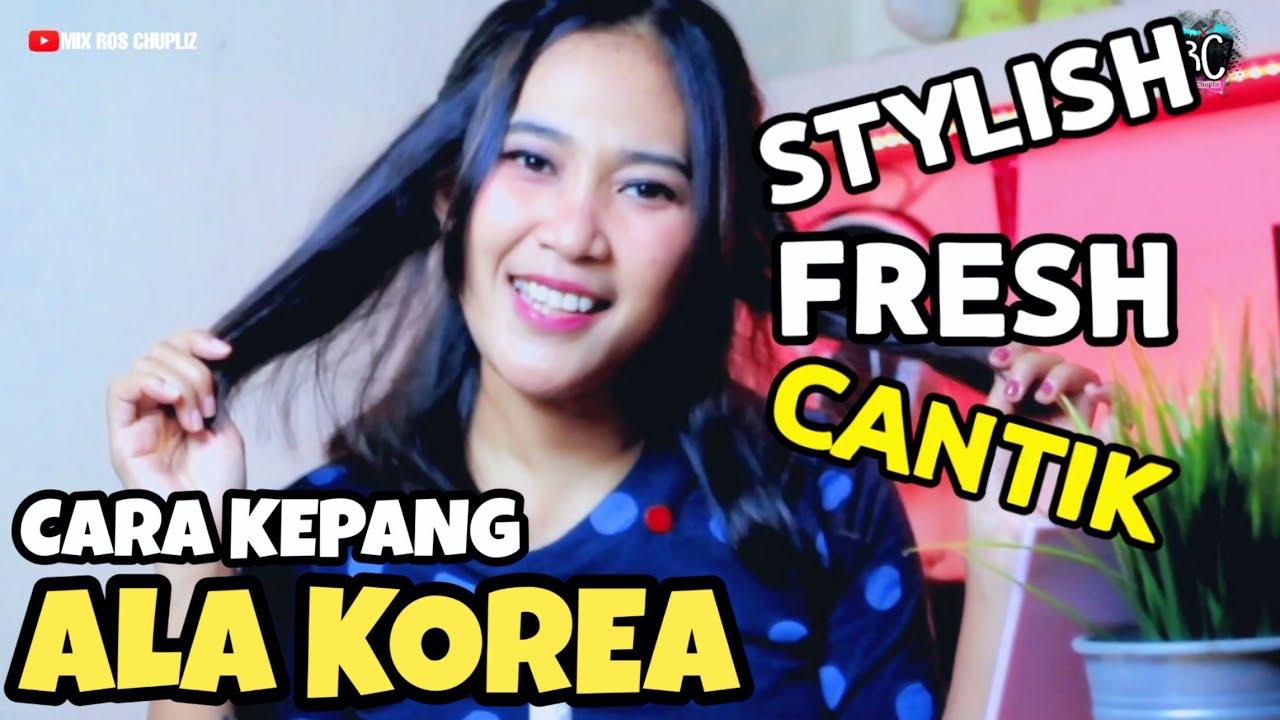Kuncir rambut ala korea simple - Gaya rambut model kepang ...