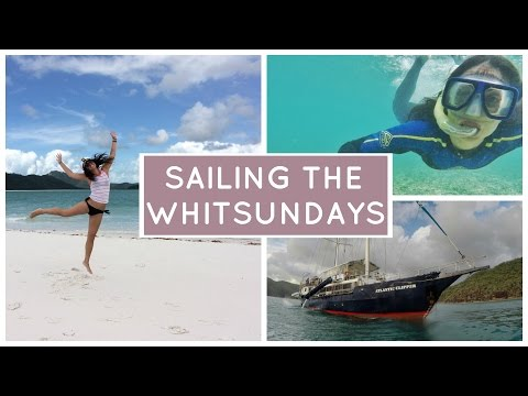 SAILING THE WHITSUNDAYS // Airlie Beach, Australia