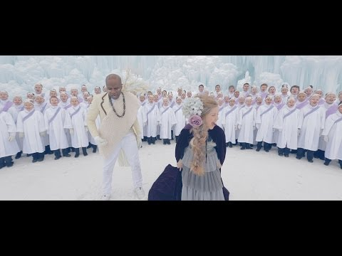 Let It Go - Frozen - Alex Boyé (Africanized Tribal Cover) Ft. One Voice Children