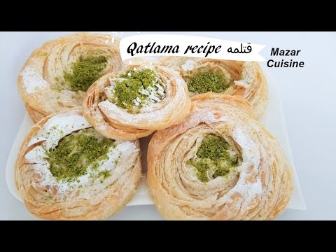 Qatlama Recipe,Katlama Recipe,Parata Waraqi Afghan Cookies Afghan Cooking قتلمه یا پراته ورقی افغانی