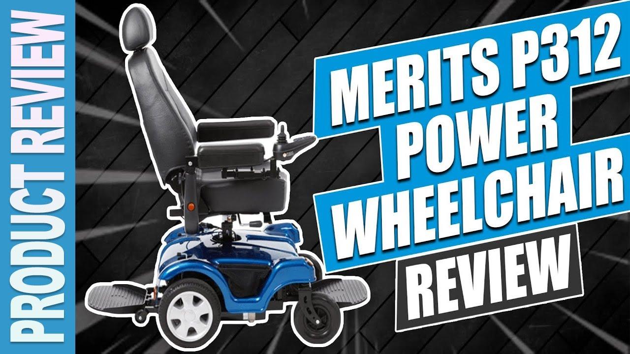 Merits P312 Power Wheelchair Review Video