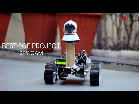 Best ECE Projects For Final Year | Spy Cam | MIST