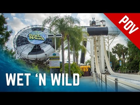 Legendary Water Rides at Wet 'n Wild Orlando | 2016 Version POV