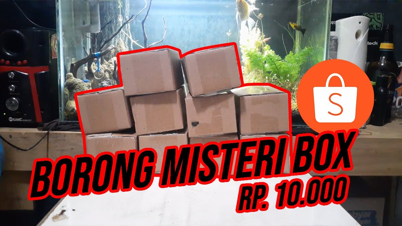 UNBOXING MISTERY BOX Rp 10.000 shoope Episode 2