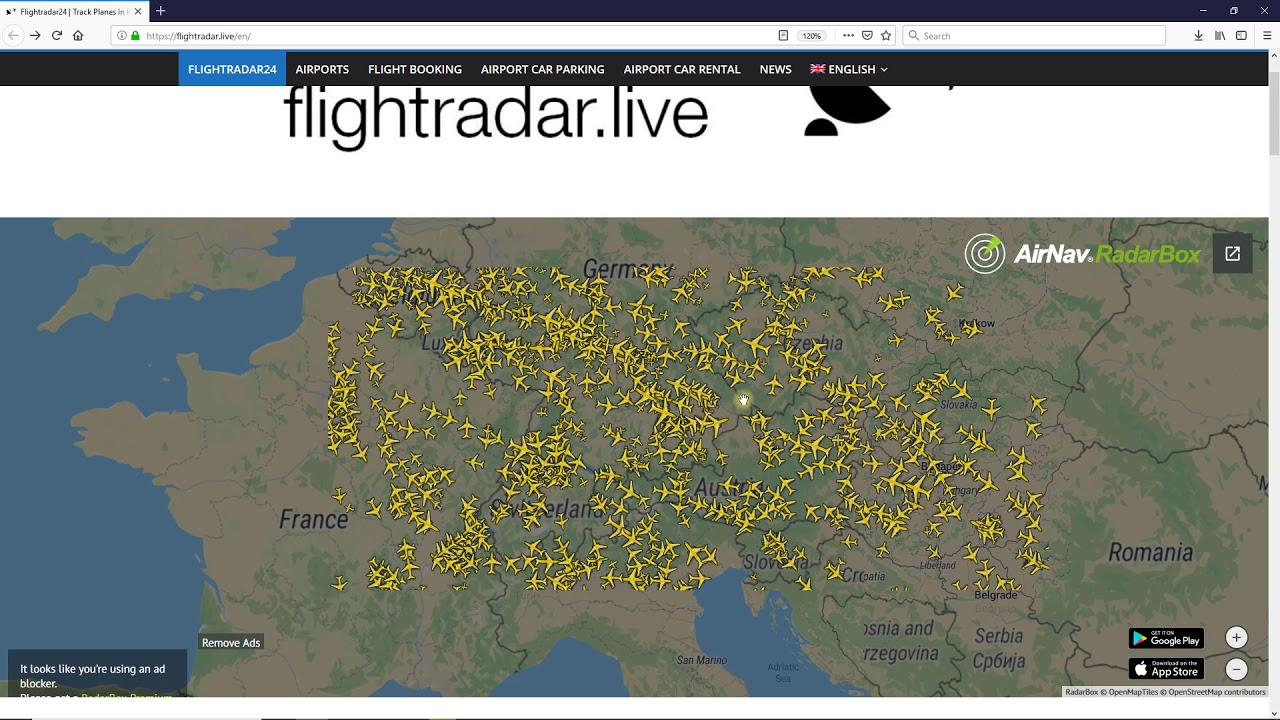 Flightradar24 Track Planes In Real Time Flight Tracker