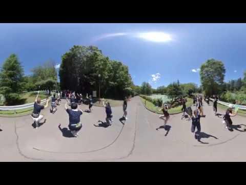 菊水連 流し練習 360度