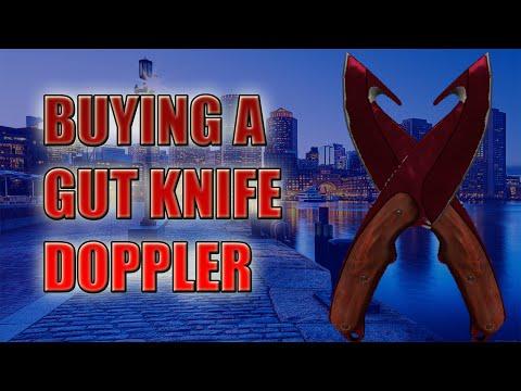 CS:GO - BUYING A GUT KNIFE DOPPLER #6