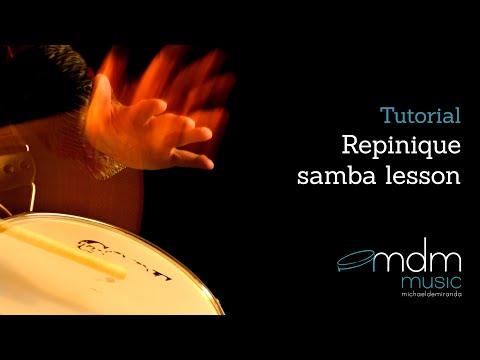 Repique (repinique) Samba Lesson By Michael De Miranda