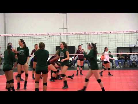 Ohio Volleyball at the Academy Volleyball Club in Indianapolis