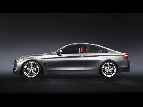 The BMW 4 Series Coupé.