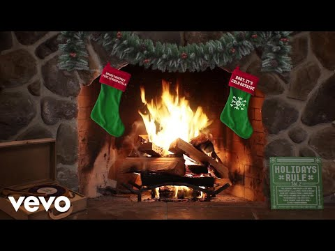 Barns Courtney - Baby, It's Cold Outside (Yule Log Audio) ft. Lennon Stella
