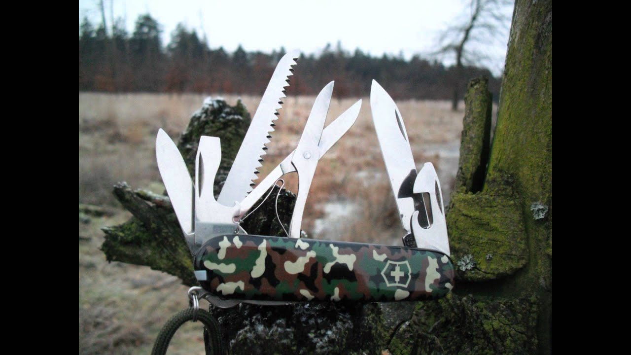 Victorinox Huntsman Youtube