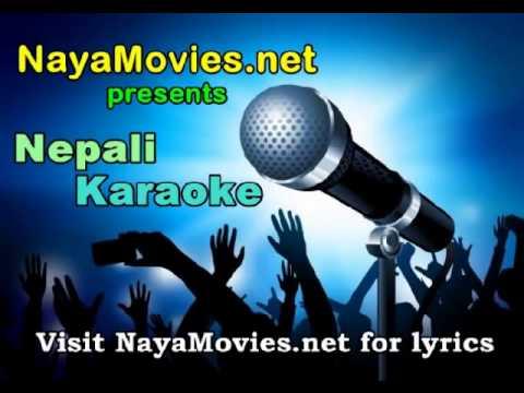 Nepali New Songs 2014 - Pani Ko Foka Jastai Karaoke  With Lyrics