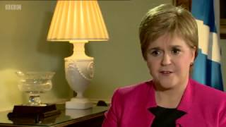 Nicola Sturgeon: Blocking a Scottish referendum 'would be undemocratic'