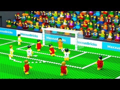 LEGO Football Goal Fail