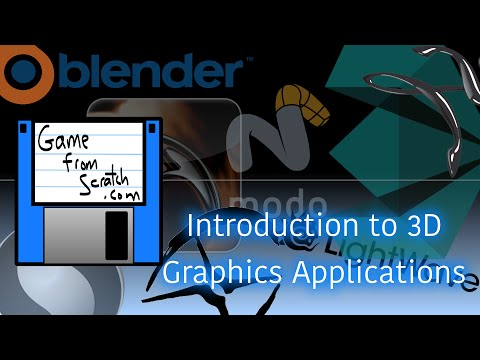 Introduction to 3D Computer Graphics Applications