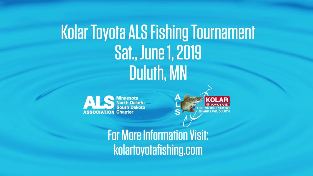 David Solon on Sponsoring the Kolar Toyota ALS Fishing Tournament