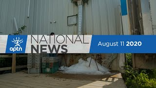 APTN National News August 11, 2020 – Ottawa drive-in concert, Demanding a share of Hydro-Quebec