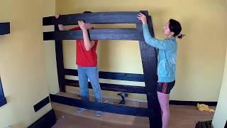 Изготовление МЕБЕЛИ для спальни дочери, Своими руками