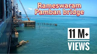 Pamban Bridge | Dangerous Railway Bridge | Rameswaram | Train over the Sea thumbnail