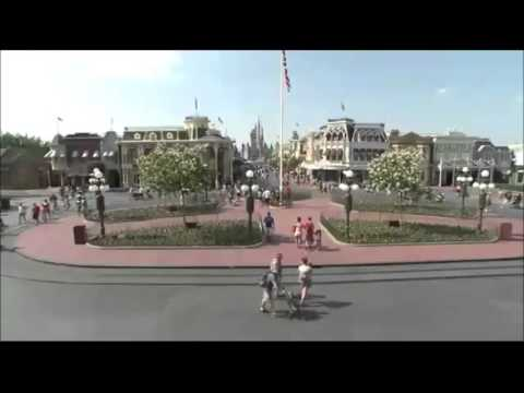 Disney World Magic Kingdom Main Street USA Music Audio Loop 2015