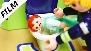 Playmobil Film deutsch   EMMA STECKT IM KLO FEST - Gips ist Schuld   Kinderserie Familie Vogel